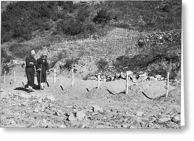 North Korean Massecre Graves Greeting Card