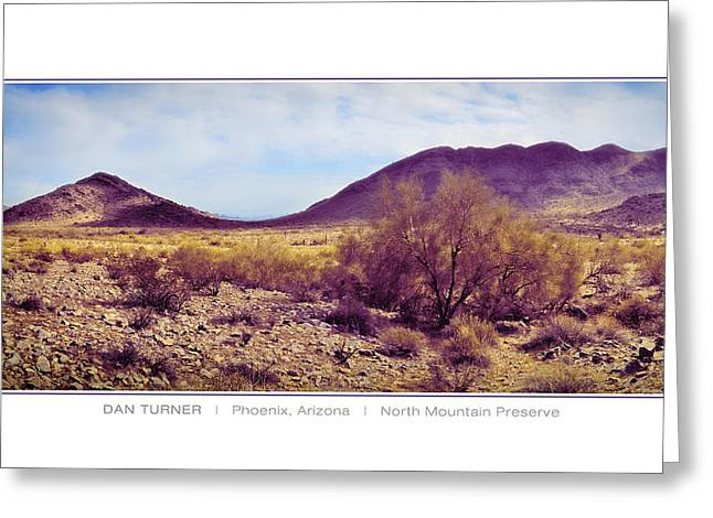 North Mountain Preserve Greeting Card by Dan Turner