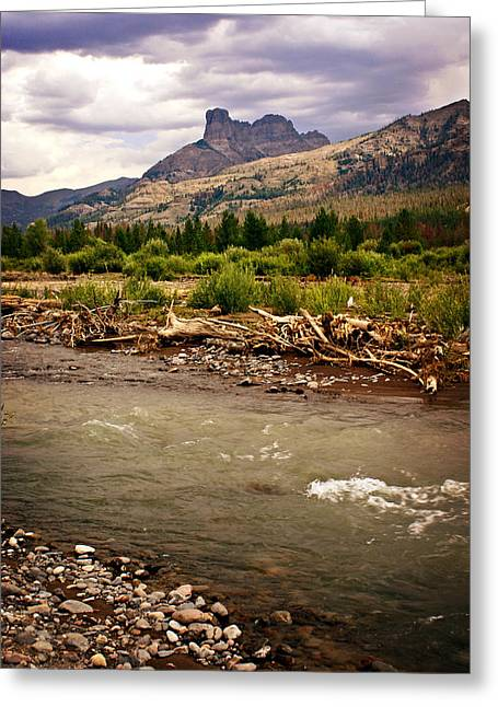 North Of Dubois 2 Greeting Card by Marty Koch