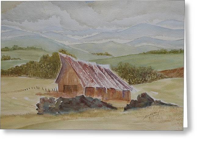 North Of Winnemucca Greeting Card by Joel Deutsch