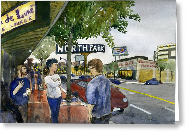 North Park Greeting Card