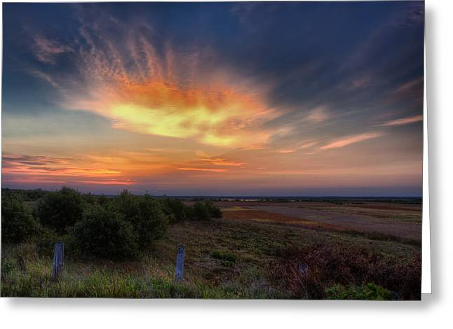 North Refuge Sunrise Greeting Card