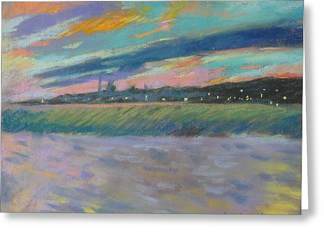 North Truro Sunset Greeting Card