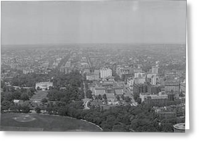 North View Washington Dc Greeting Card by Fred Schutz Collection