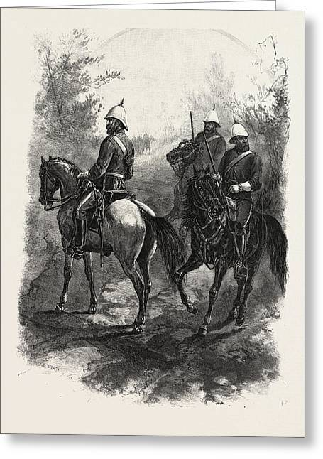 North-west Mounted Police, Canada Greeting Card