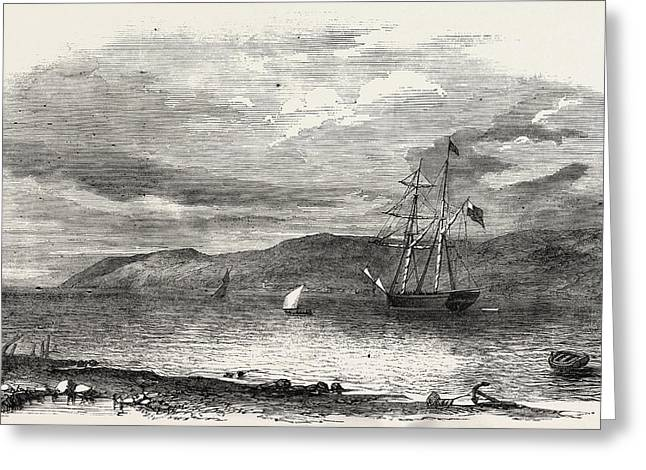 North-west Searching Expedition For Sir John Franklin Greeting Card