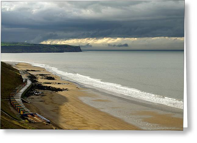 North Yorkshire Coast After The Storm Greeting Card