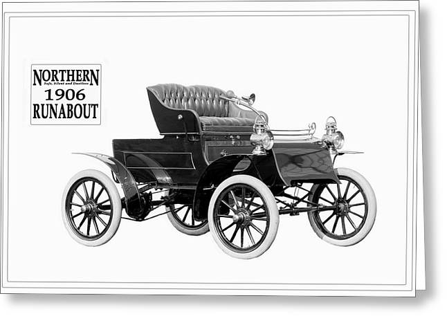 Northern Runabout 1906. Greeting Card