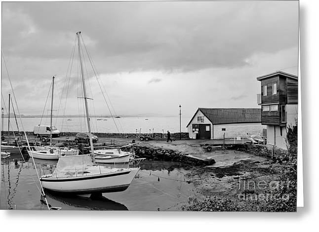 Northern Spring Marina Greeting Card