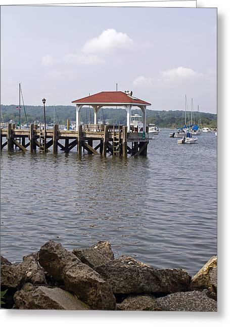 Northport Dock Greeting Card