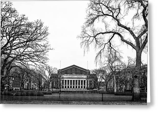 Northrop Auditorium At The University Of Minnesota Greeting Card
