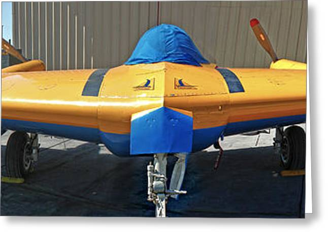 Northrop N9mb Flying Wing Greeting Card by Gregory Dyer