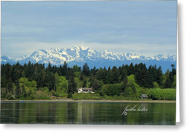 Northwest Living II Greeting Card