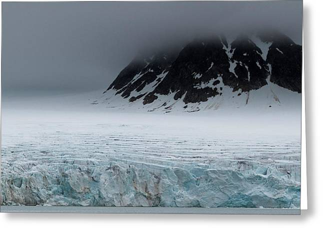 Norway, Spitsbergen, Svalbard Greeting Card by Jaynes Gallery