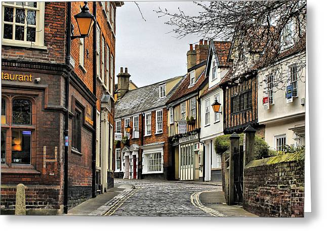 Norwich Greeting Card by Pedro Fernandez