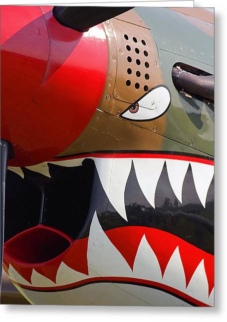 Nose Art I Greeting Card