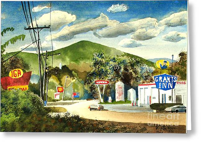 Nostalgia Arcadia Valley 1985  Greeting Card by Kip DeVore