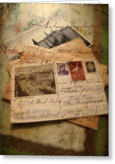 Nostalgia Greeting Card by Jessica Jenney