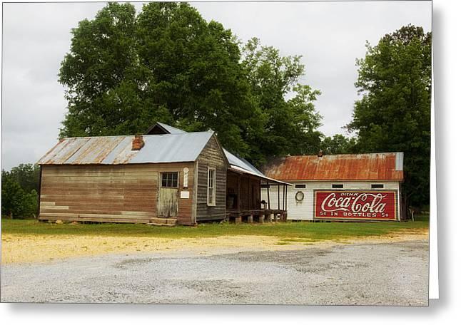 Nostalgic Corner - Alabama Greeting Card by Mountain Dreams