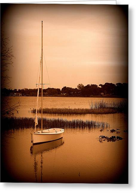 Greeting Card featuring the photograph Nostalgic Summer by Laurie Perry