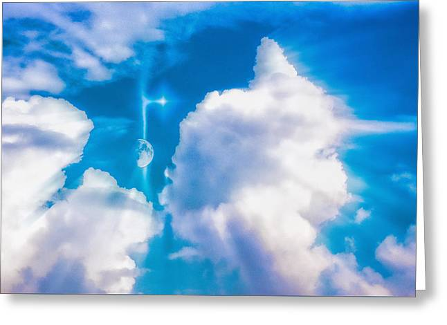 Not Just Another Cloudy Day Greeting Card