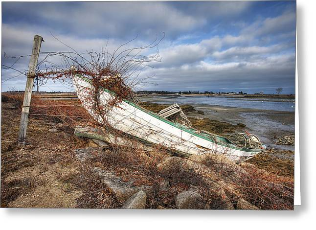 Not Seaworthy Greeting Card by Eric Gendron