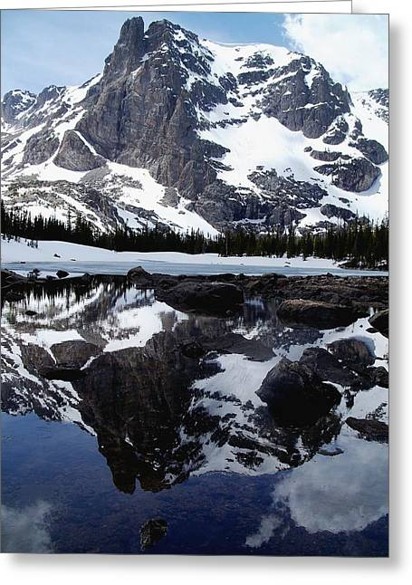 Notchtop Reflection Greeting Card