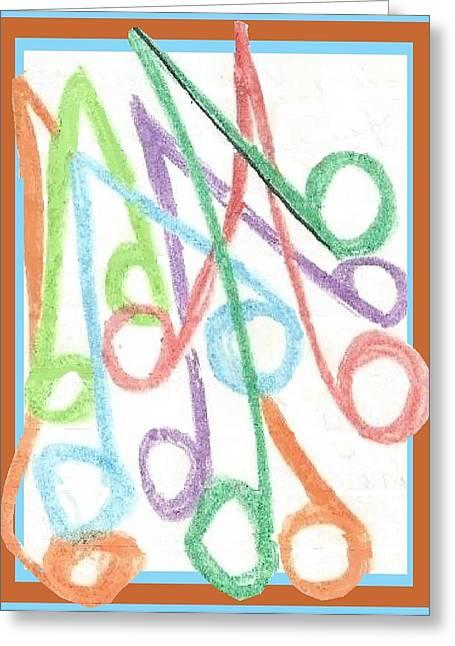 Notes Greeting Card
