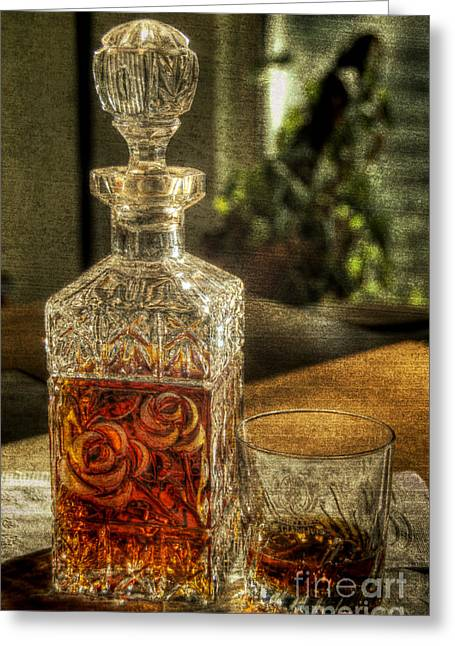 Nothin Like A Little Bourbon Greeting Card by John Kain