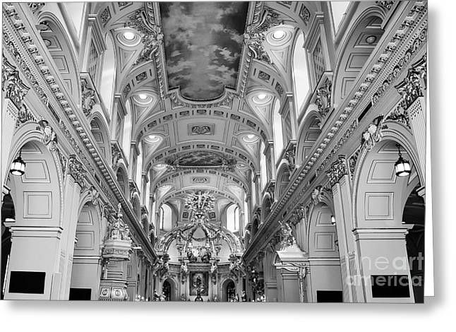 Notre-dame Basilica Greeting Card