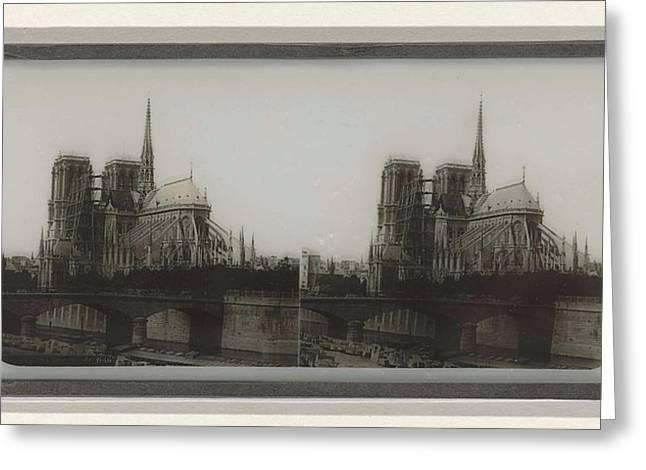 Notre-dame De Côté, Anonymous Greeting Card