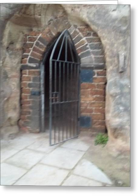 Nottingham Castle Gateway Greeting Card
