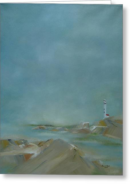 Nova Scotia Fog Greeting Card