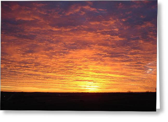 Greeting Card featuring the photograph November Morn by J L Zarek