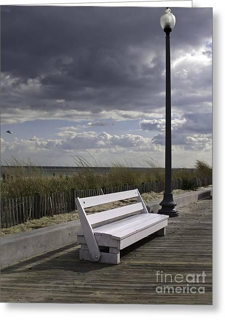 November On The Boardwalk 2 Greeting Card by Arlene Carmel