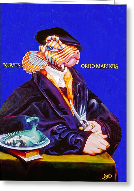 Novus Ordo Marinus Greeting Card by Patrick Anthony Pierson
