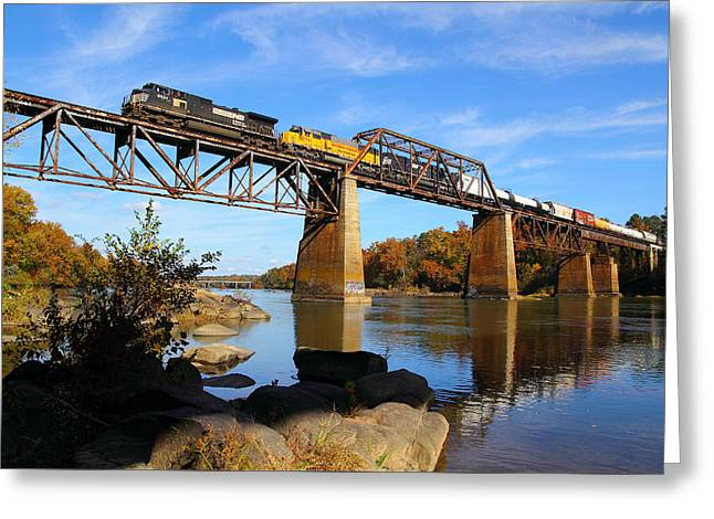 Ns Over The Congaree Greeting Card