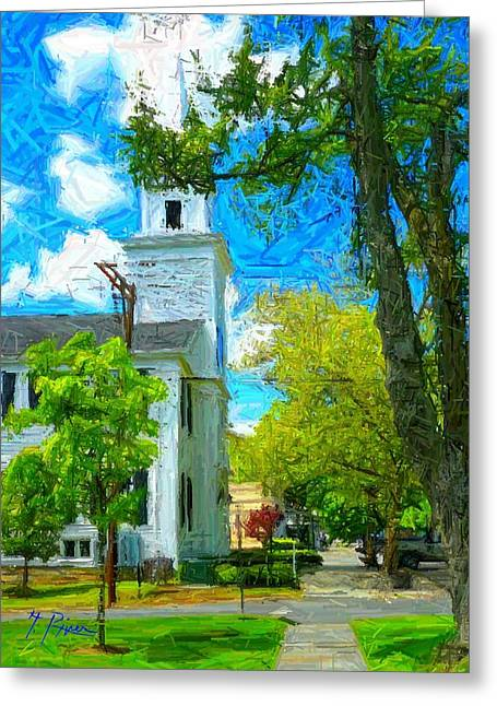 Nt - 155 Greeting Card by Glen River