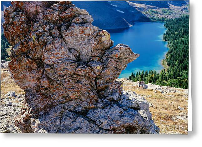 Nub Ridge Greeting Card by Tracy Knauer