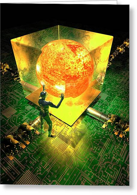 Nuclear Fusion Greeting Card