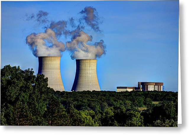 Nuclear Hdr1 Greeting Card