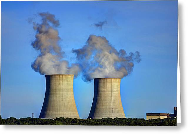 Nuclear Hdr2 Greeting Card