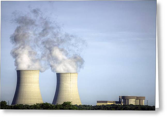 Nuclear Hdr3 Greeting Card