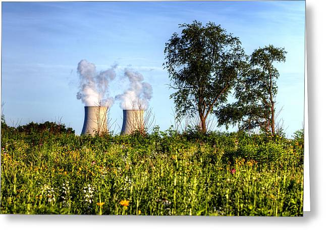 Nuclear Hdr4 Greeting Card