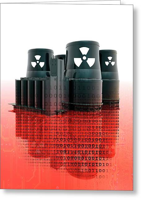 Nuclear Power Greeting Card