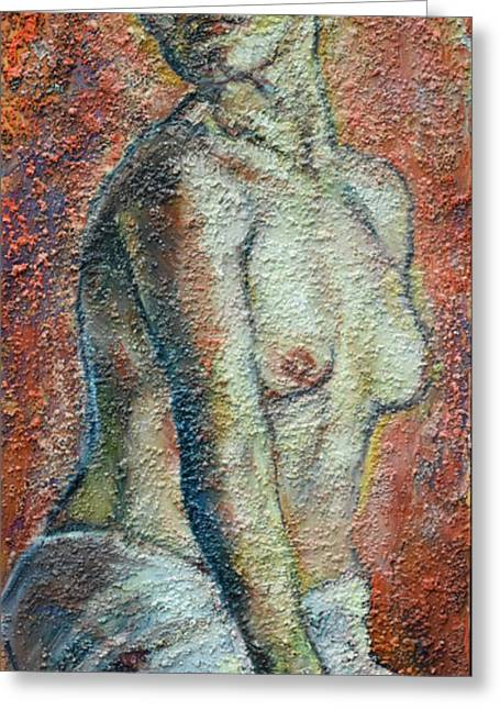 Nude Lisbeth Greeting Card