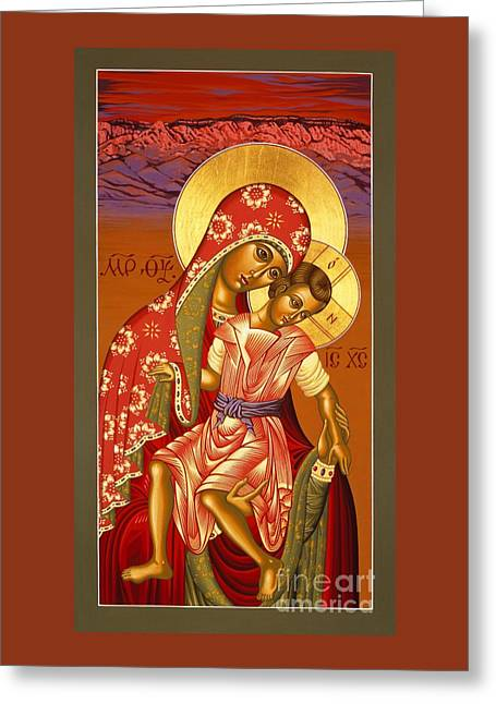 Nuestra Senora De Las Sandias 008 Greeting Card by William Hart McNichols