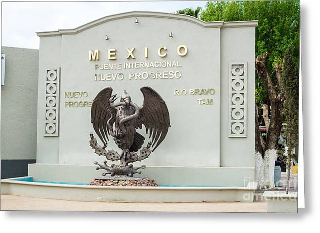 Nuevo Progreso Mexico Greeting Card by Imagery by Charly