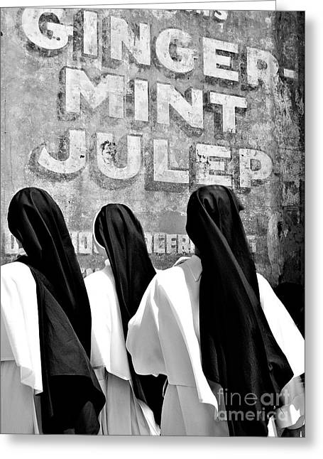 Nun Of That Greeting Card