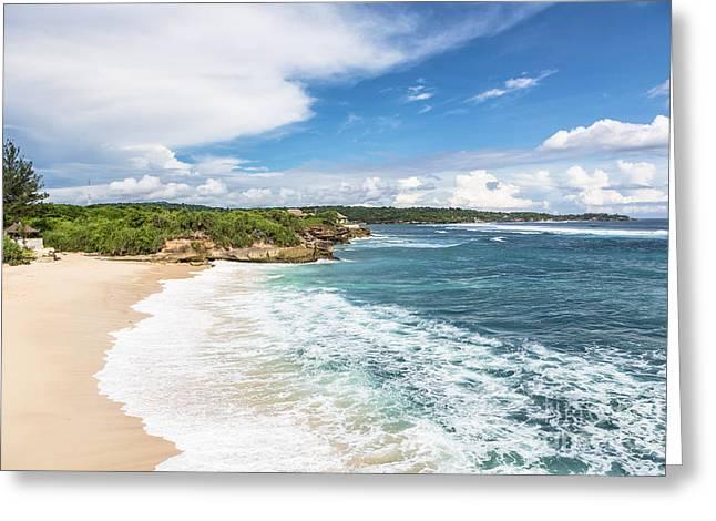 Nusa Lembongan In Bali Greeting Card